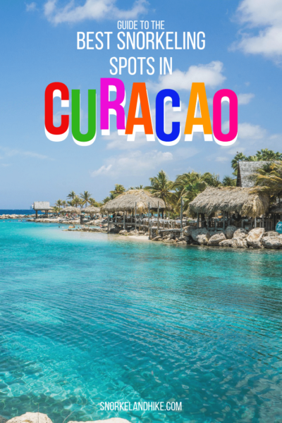 Photo of Lagoon in Curacao, text overlay: Best snorkeling spots in Curacao