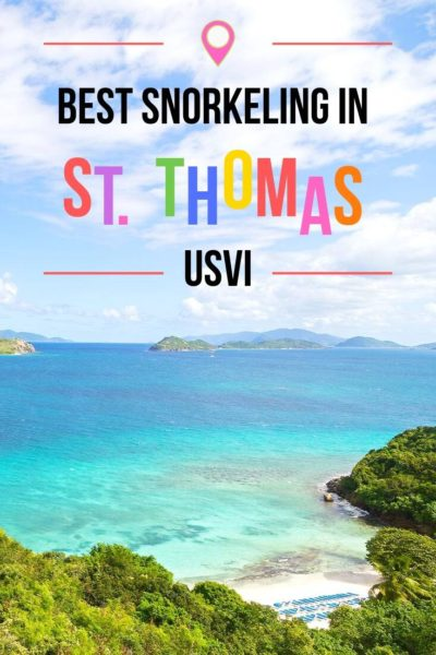 Best St Thomas Snorkeling
