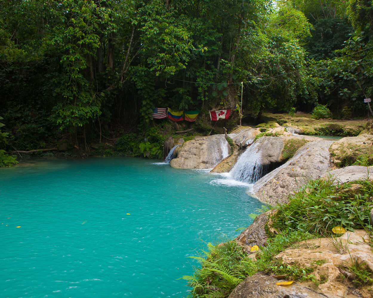 Blue Hole Waterfall Jamaica