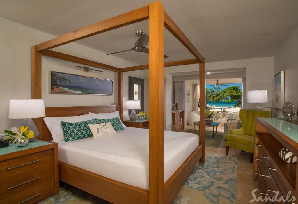 Sandals Montego Bay Bedroom