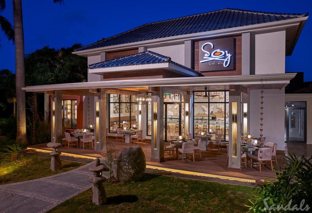 Sandals Montego Bay Restaurant Soy