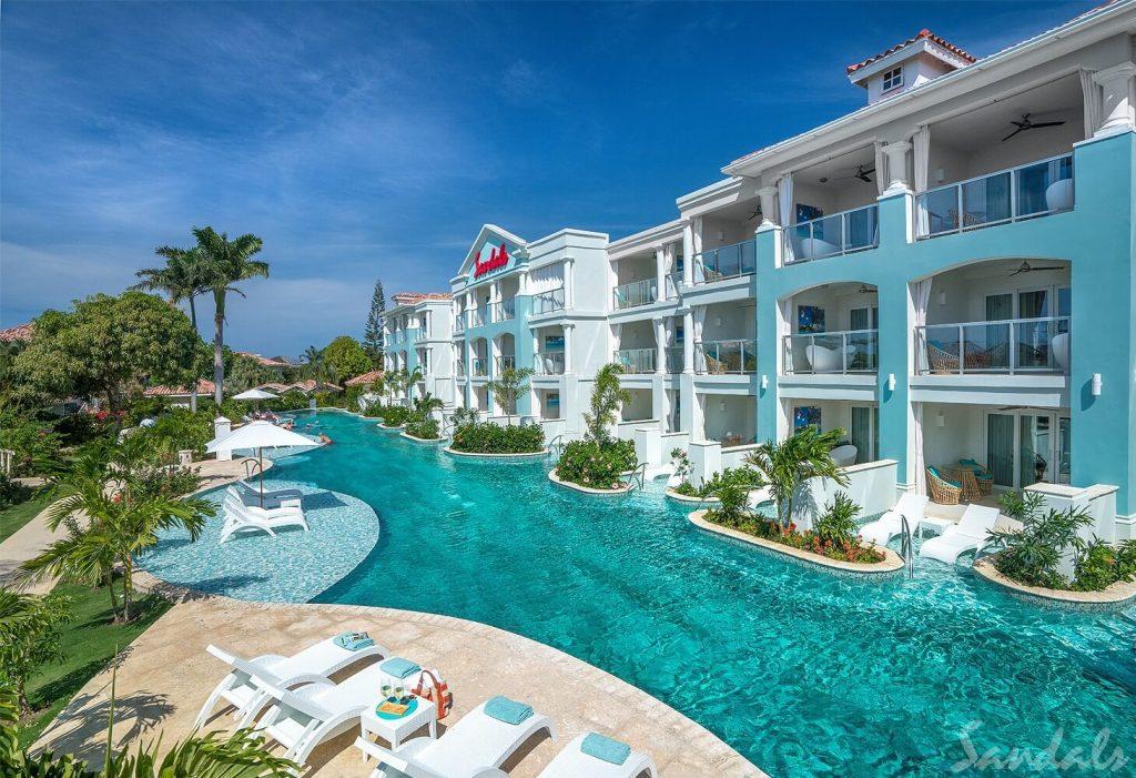 Sandals Montego Bay Swim up Rooms