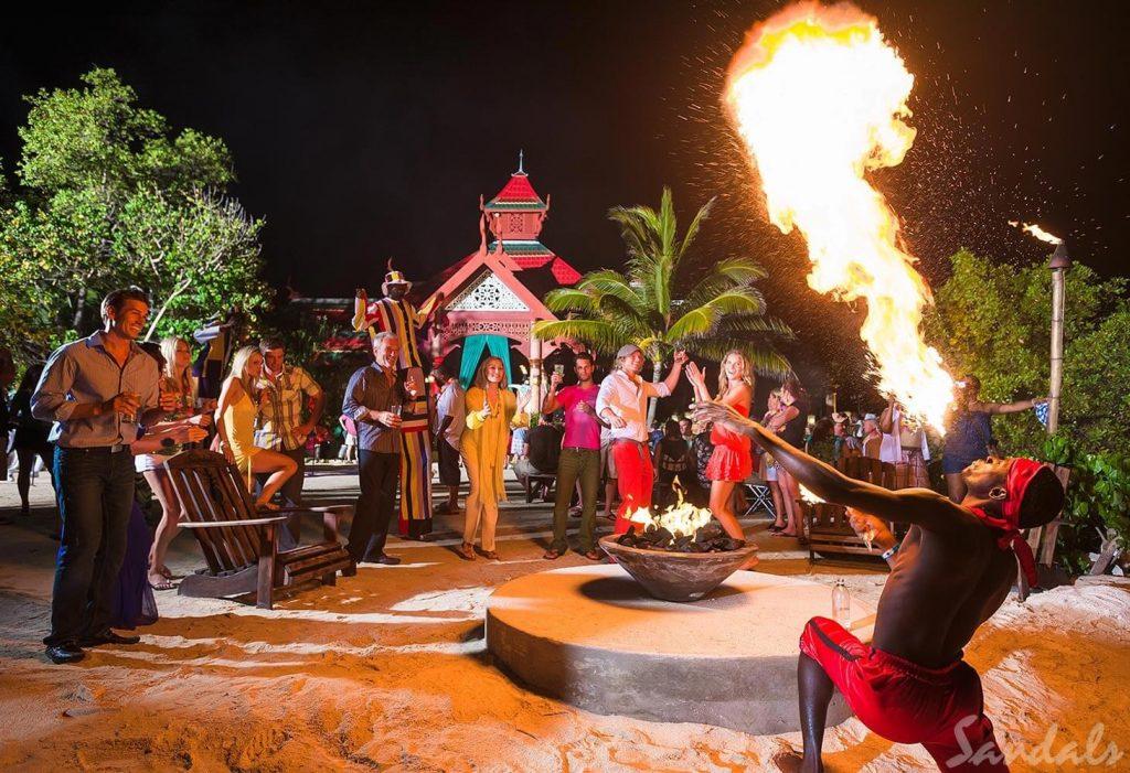 Sandals Royal Caribbean Nightlife