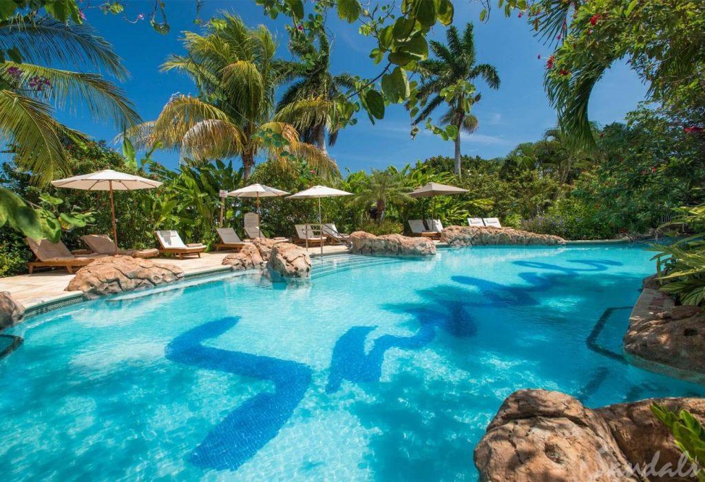 Sandals Royal Caribbean Pool