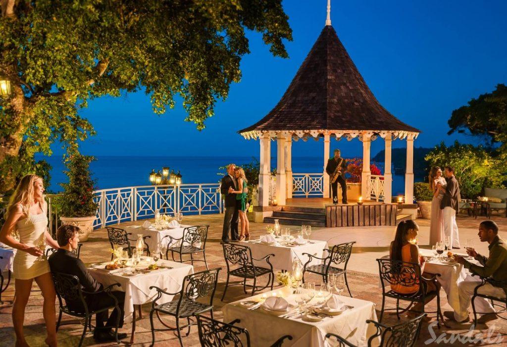Sandals Royal Plantation Night Restaurant