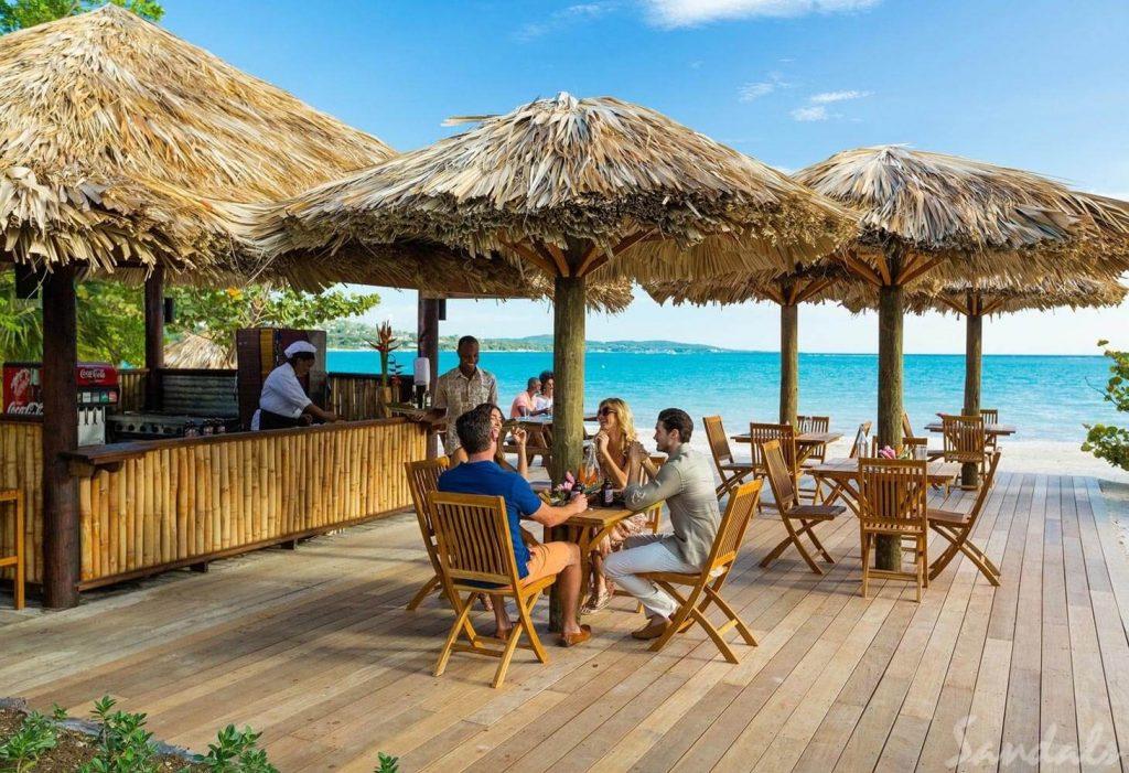 Sandals South Coast Restaurant Patio