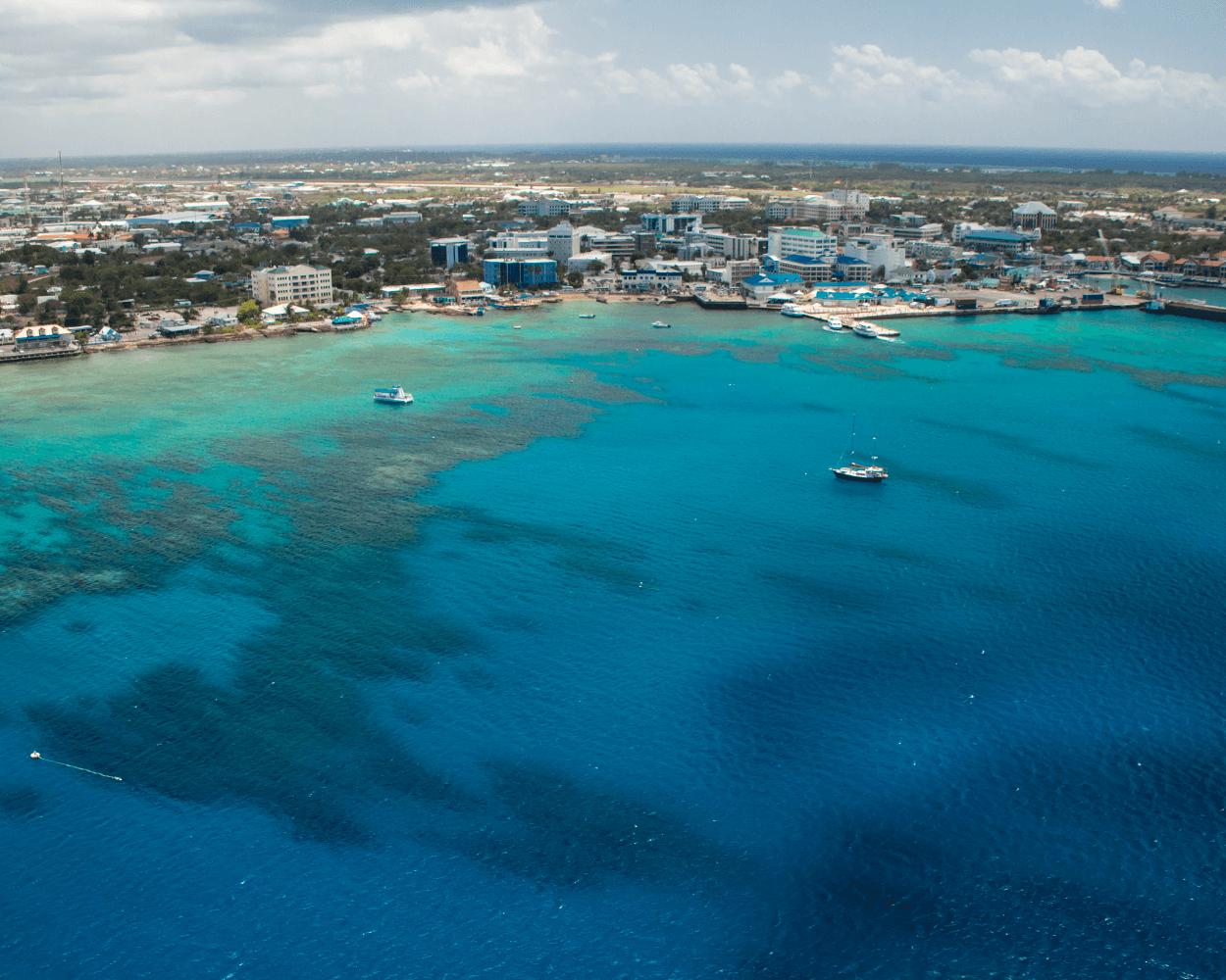 Aerial Grand Cayman