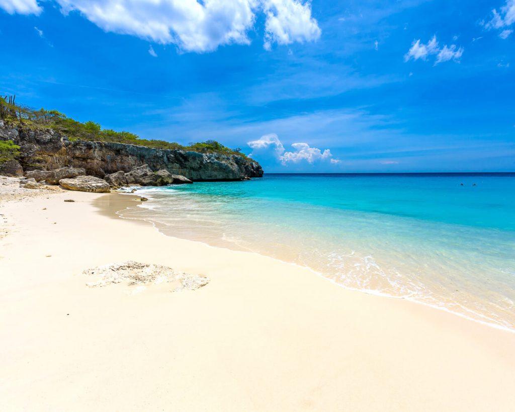 Klein Knip Beach in Curacao