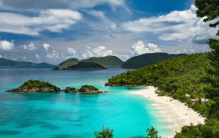 Trunk Bay St. John, US Virgin Islands
