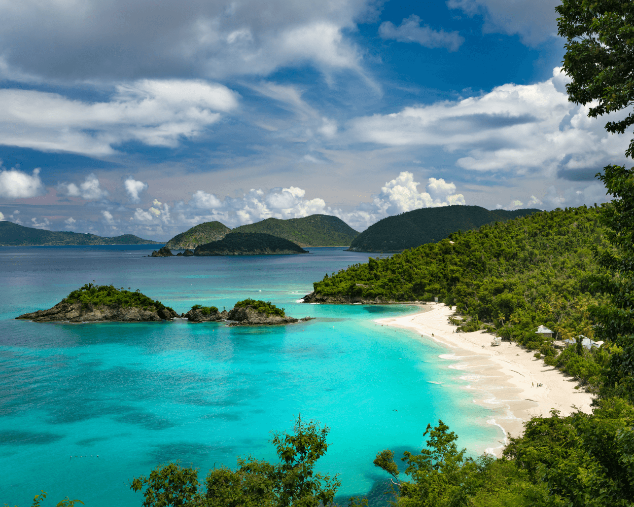 Trunk Bay St. John, US Virgin Islands