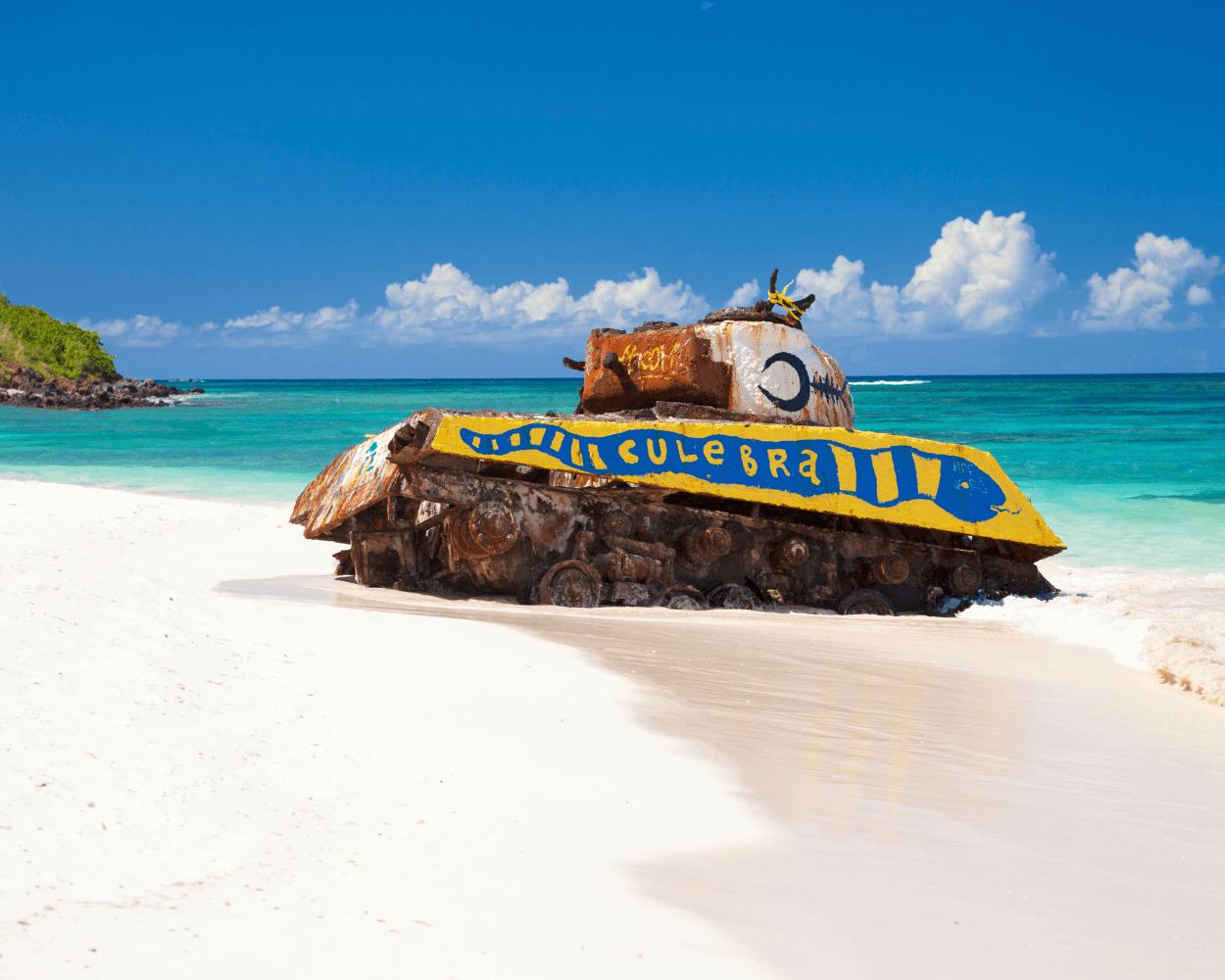 Flamenco Beach Tank Culebra