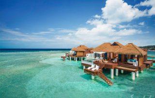 Sandals Royal Caribbean Overwater Bungalow Exterior